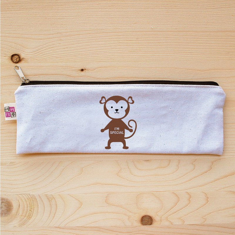 Taiwan monkey zipper wide cutlery bag