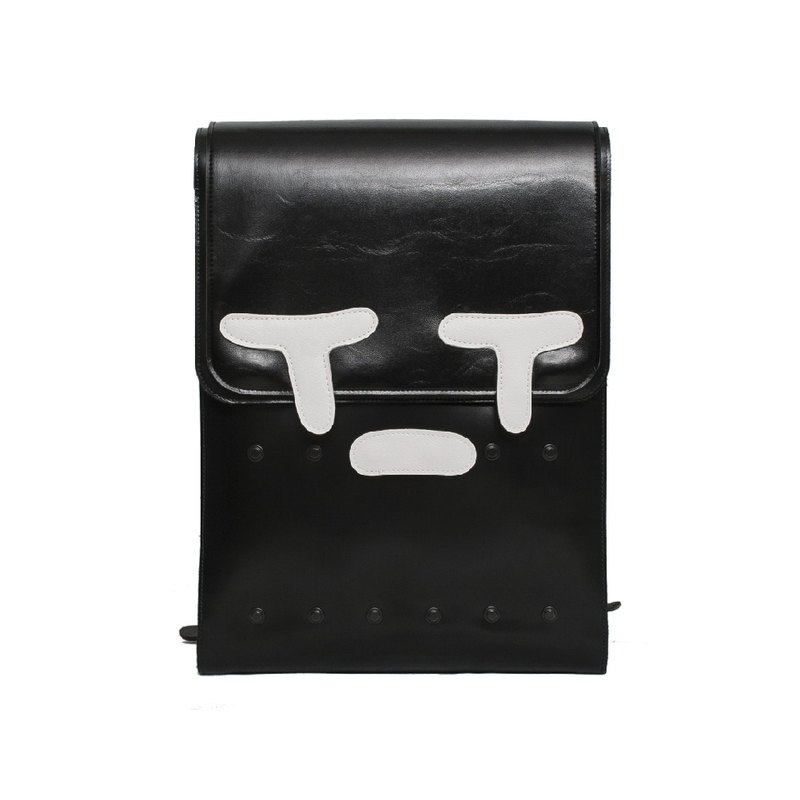 SORROW BIG COW LEATHER BACKPACK