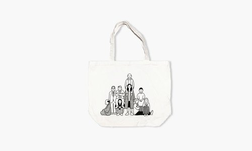 NORITAKE - EVERYDAY PEOPLE Tote Bag