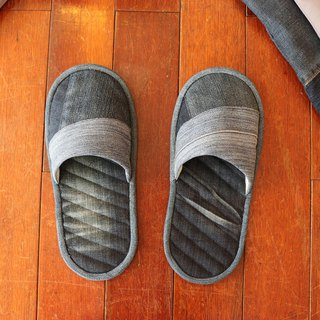 Handmade tannin folding slippers