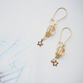 Simple design earrings. Pin/clip