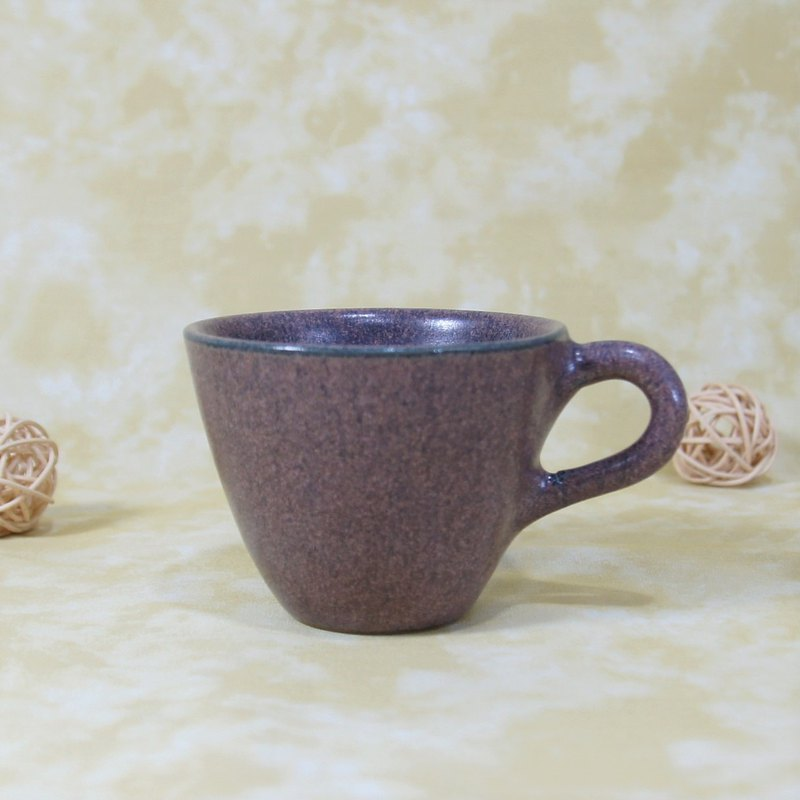 (cherished goods) blueberry second generation coffee cup, teacup, mug, water cup - about 120ml