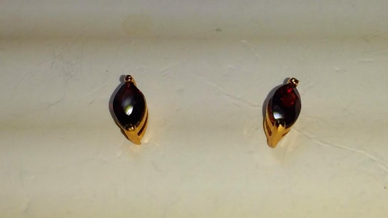 Olive Gemstone Earrings