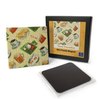Mini Puzzle Magnet: Food Paradise