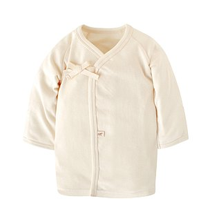 [SISSO organic cotton] four seasons soft cotton anti-sleeve baby belly gown 3M 6M