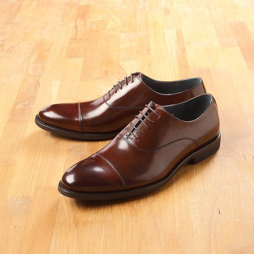Vanger will style Czech Oxford shoes Va220 coffee