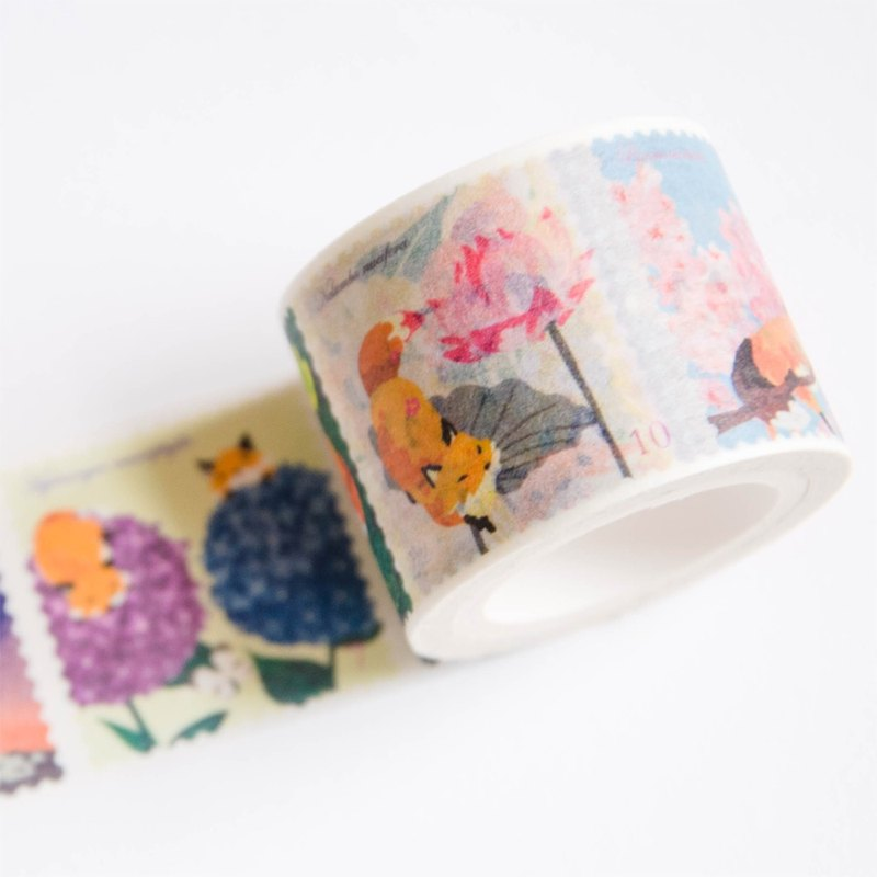 Flower Stamp Paper tape