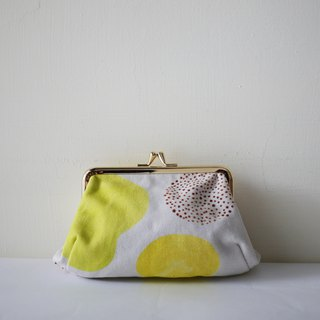 Moshimoshi | Hand take gold bag - Melon