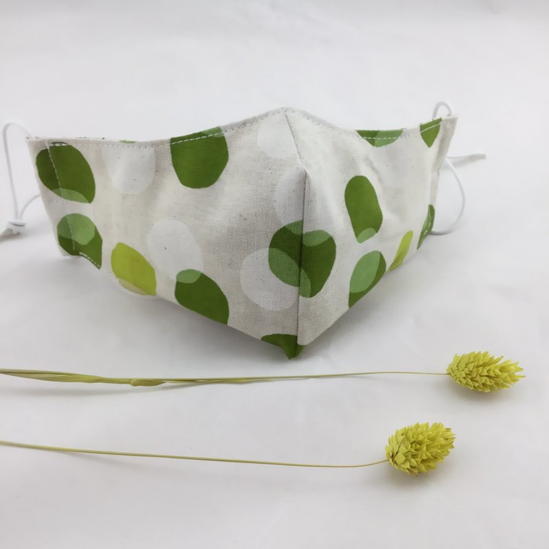 Little spring - 100% cotton mask--line with face ergonomics--warm and comfortable shade