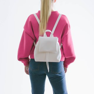 MINI BOO backpack white