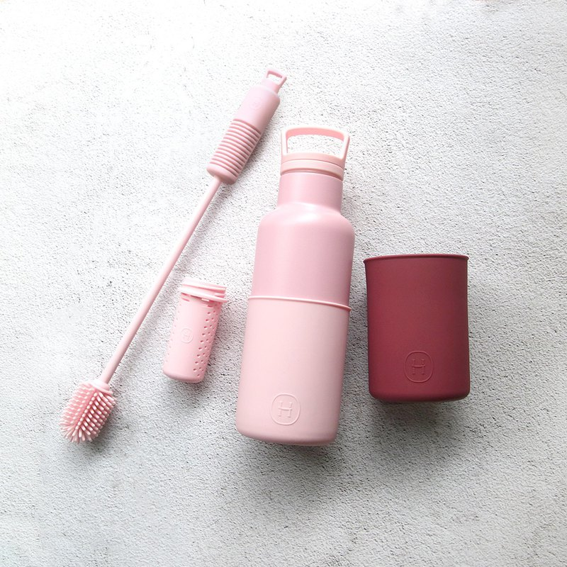 [Value-for-money four-in-one combination] rose powder bottle offer combination