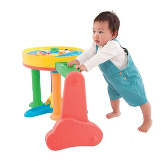 Multifunctional fun toddler round table