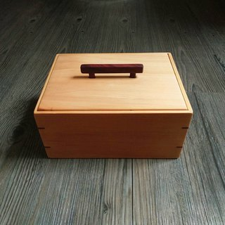 Taiwan Elm + Zambia blood sandal storage box