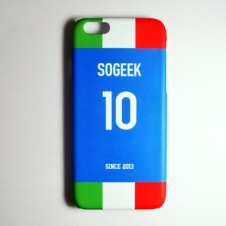 SO GEEK phone shell design brand THE JERSEY GEEK shirts back number Customized paragraph 056