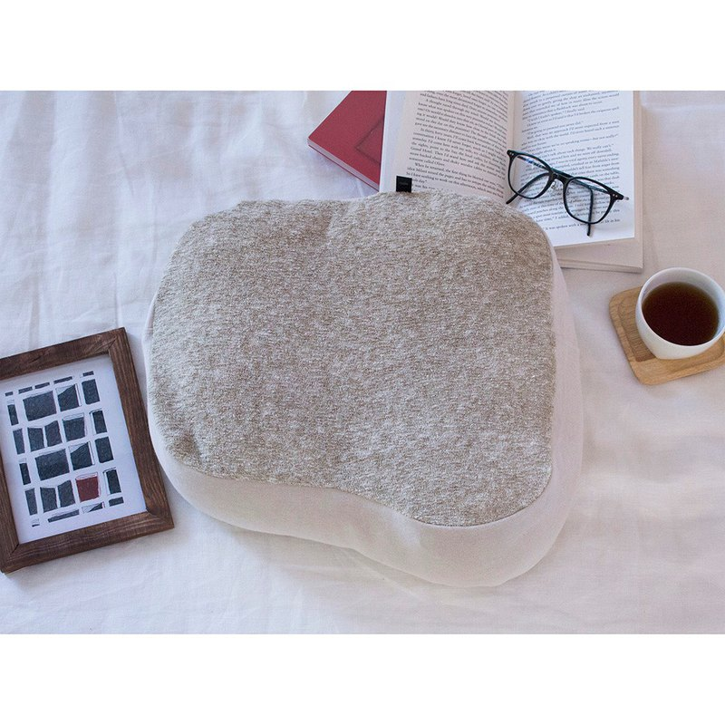 HONTO Reading Pillow / Mix Beige (Made in Japan)