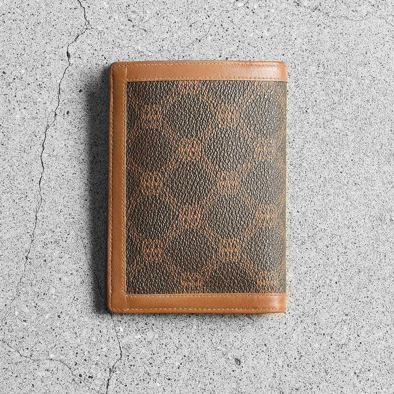 Bally Gold short clip / vintage wallet