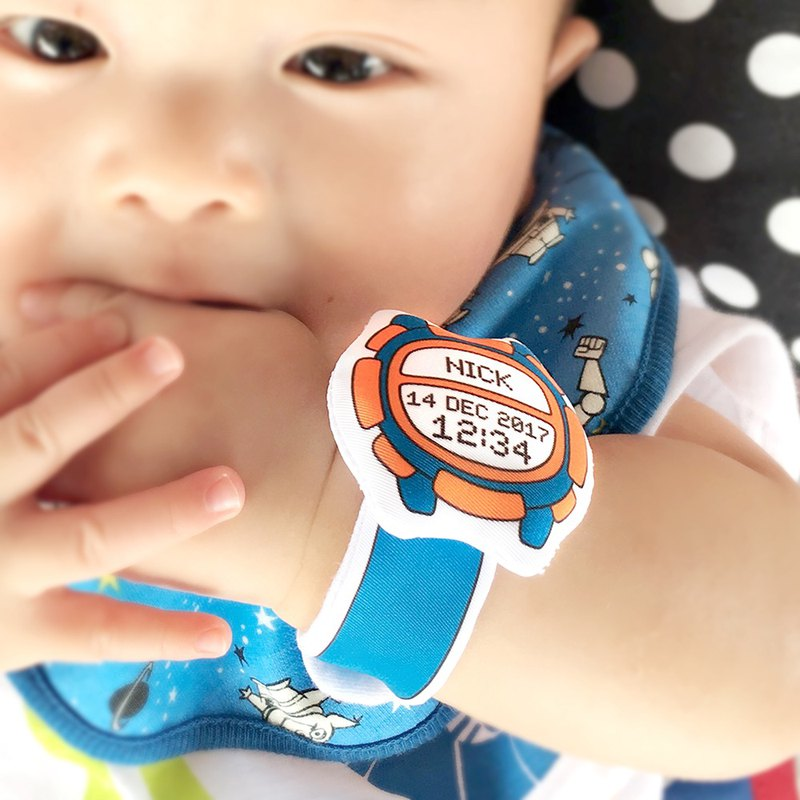 My First Watch Fabric Baby Watch (D02A03)