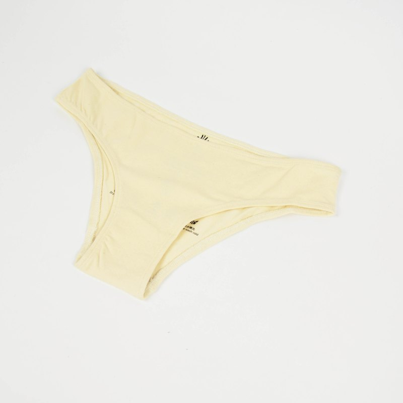 Organic Cotton Panties - Natural Cotton - Fair Trade