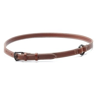 Brown leather bag straps / belts / camera straps - a small version