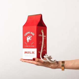 Organic milk pochette  --  RED