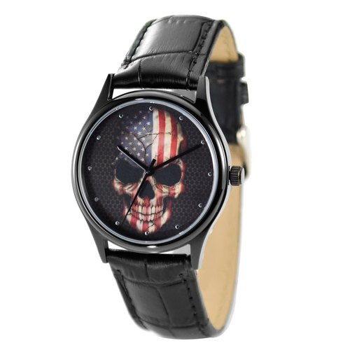 Skull Watch Flag Unisex Free Shipping Worldwide