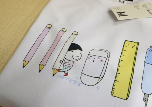 Stationery control T-shirt
