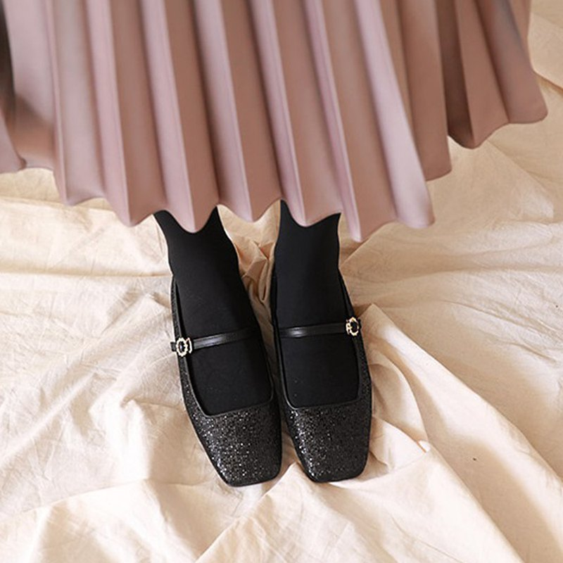 PRE-ORDER-MACMOC Bandi (Black) FLATS SHOES