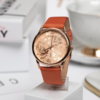 2018 European style watch series - earth color, warm, elegant, low-key
