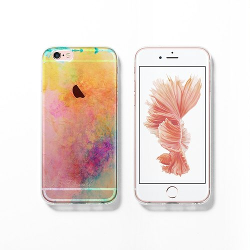 iPhone 6 case, Clear iPhone 6s case, Decouart original design C746