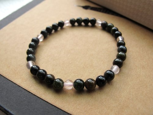 【Black stone】 black tourmaline x powder - hand-made natural stone series