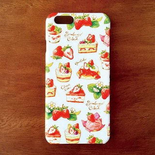 StrawberryCakes iPhone case
