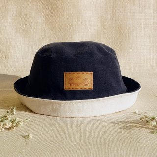 หมวก Tipple Sun Bucket hat  (Black /off white)