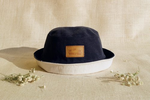 Tipple Sun Bucket hat (Black /off white)