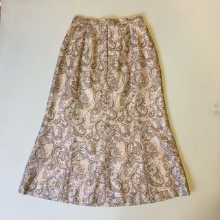 Ancient cave British firm │ │ little girl vintage skirt retro soft feel limited