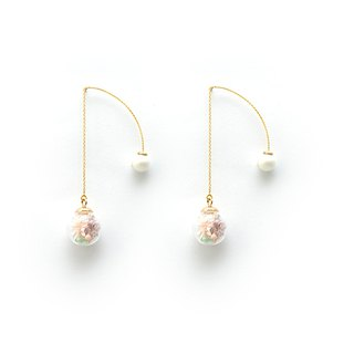 Nawako - Cloris Gift Flower Earrings