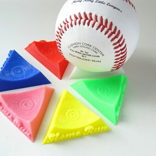 Homerun home run baseball display / display stand (1 set of 6) multi-color optional | sporting goods