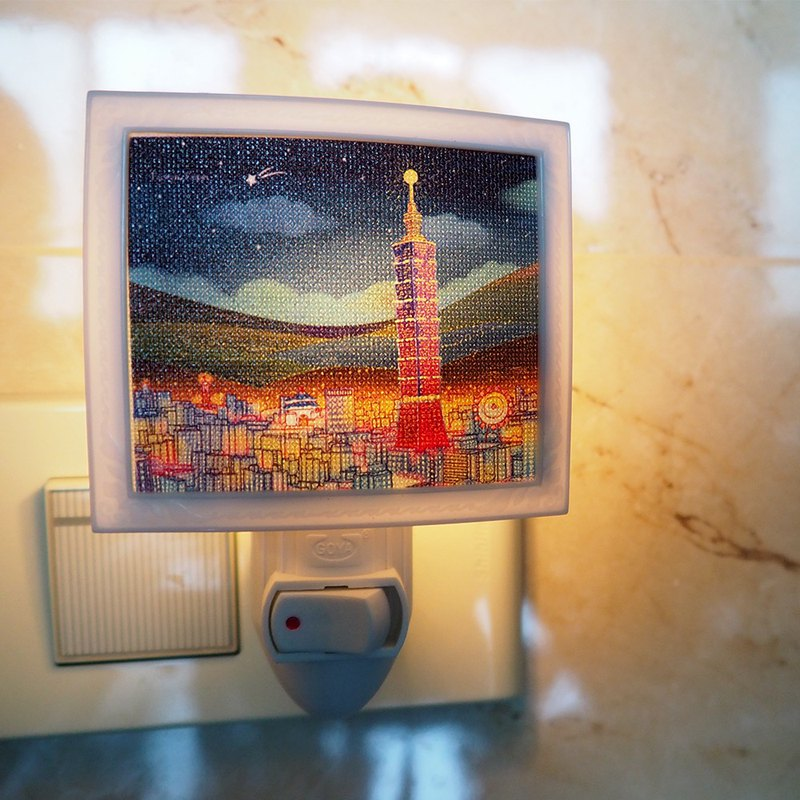 Wenchuang Mini Night Light-160 Taipei Night (Send to Taiwan)