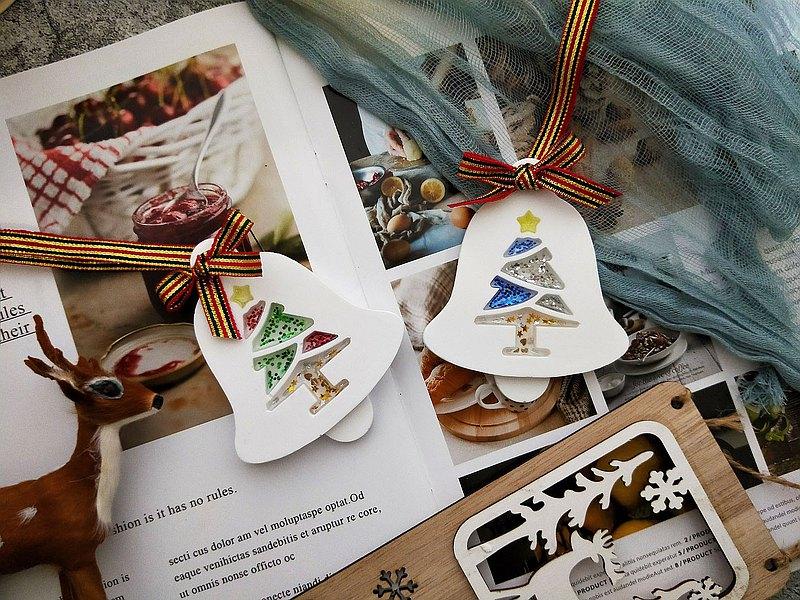 【微光小姐】聖誕樹鈴鐺擴香石 聖誕禮物 生日 婚禮小物 居家香氛