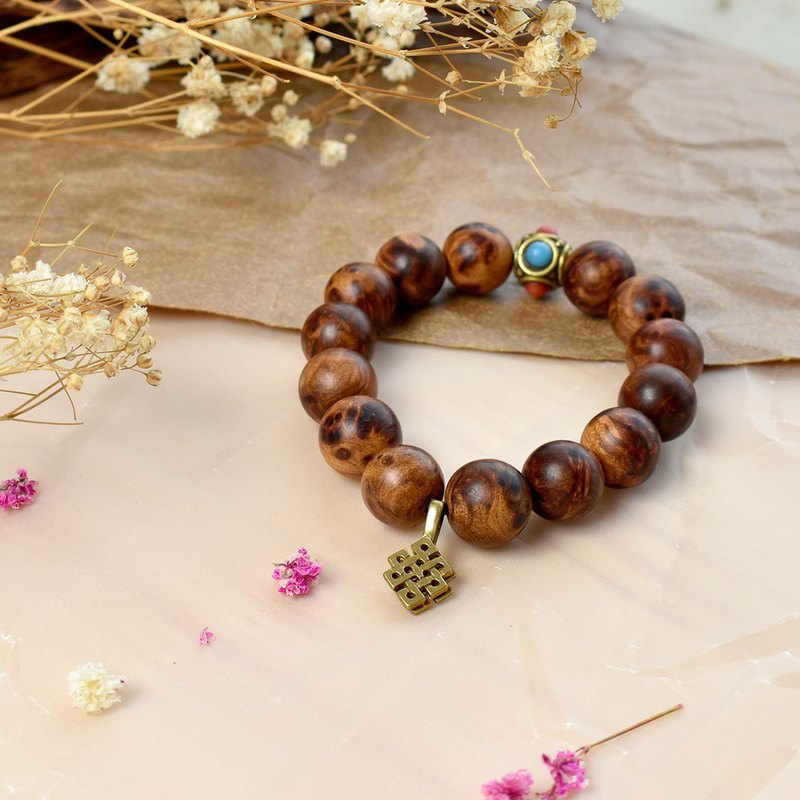 Xiao Nan tumor flower wooden safety bracelet