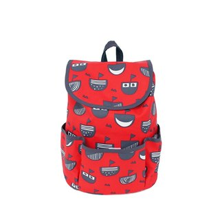 Kid Backpack, Play Backpack, 200g Waterproof Backpack, Red