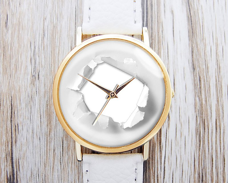 Paper Broken - Men's Watch / Women's Watch / Neutral Watch / Accessories [Special U Design]
