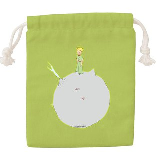 Little Prince Classic Edition - Colored Drawstring Pocket - [Another Planet (Fruit Green)] CB6AA03