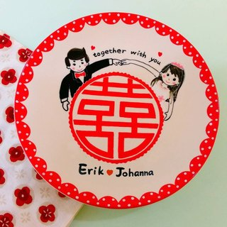Customized 大 囍 wedding blessing package with wedding anniversary gift first choice