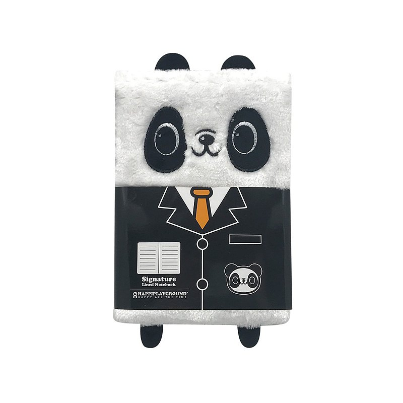 Panda Plush Notebook