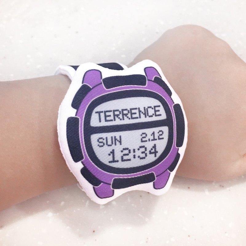 我的第一隻布手錶(客製化) (D06A04)