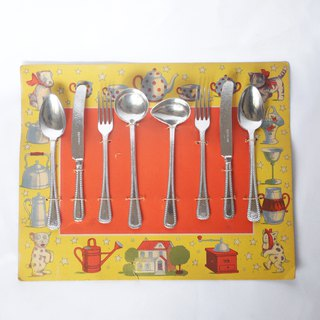 East and West German goods play home wine metal toy tableware