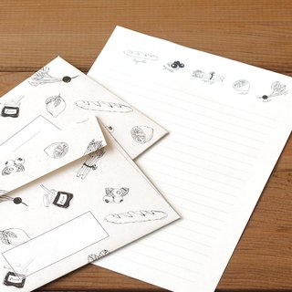Japan [LABCLIP] Marche Series Stationery Set