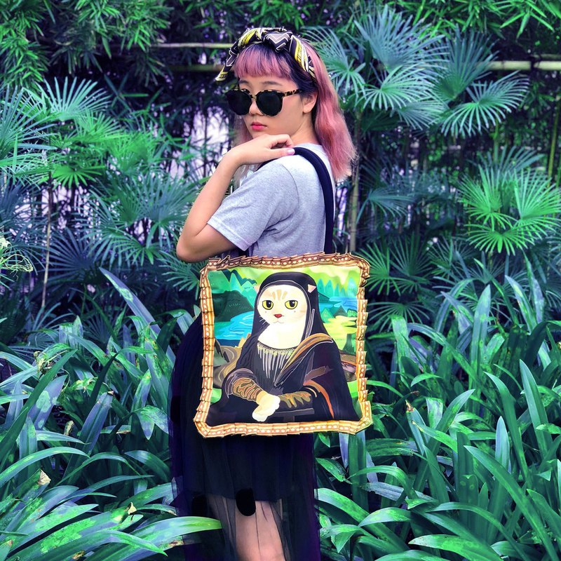MEONA LISA SMILE HANDBAG