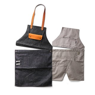 Second-generation deformation work apron + skirt combination discount store warranty many professional designated brands
