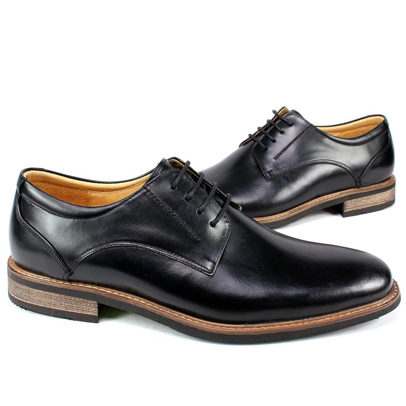 Sixlips metropolitan plains derby shoes black